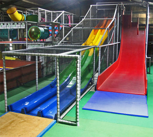 two new indoor slides Feb 2020